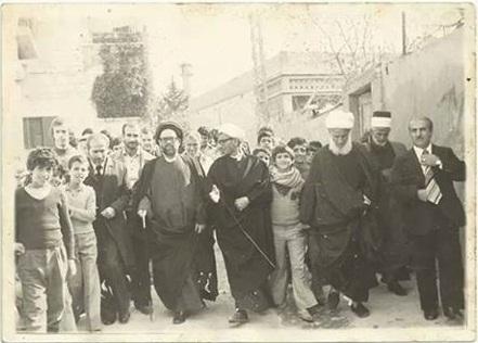 Photo of صورة من ذكرى اسبوع المرحوم الحاج محمد حمزه حوالي سنة 1976