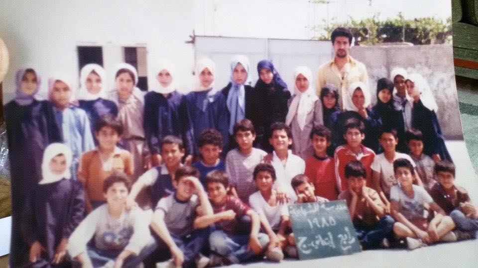 Photo of صورة لطلاب المدرسة الابتدائية الصف الرابع ابتدائي (شعبة ج) _ سنة 1985
