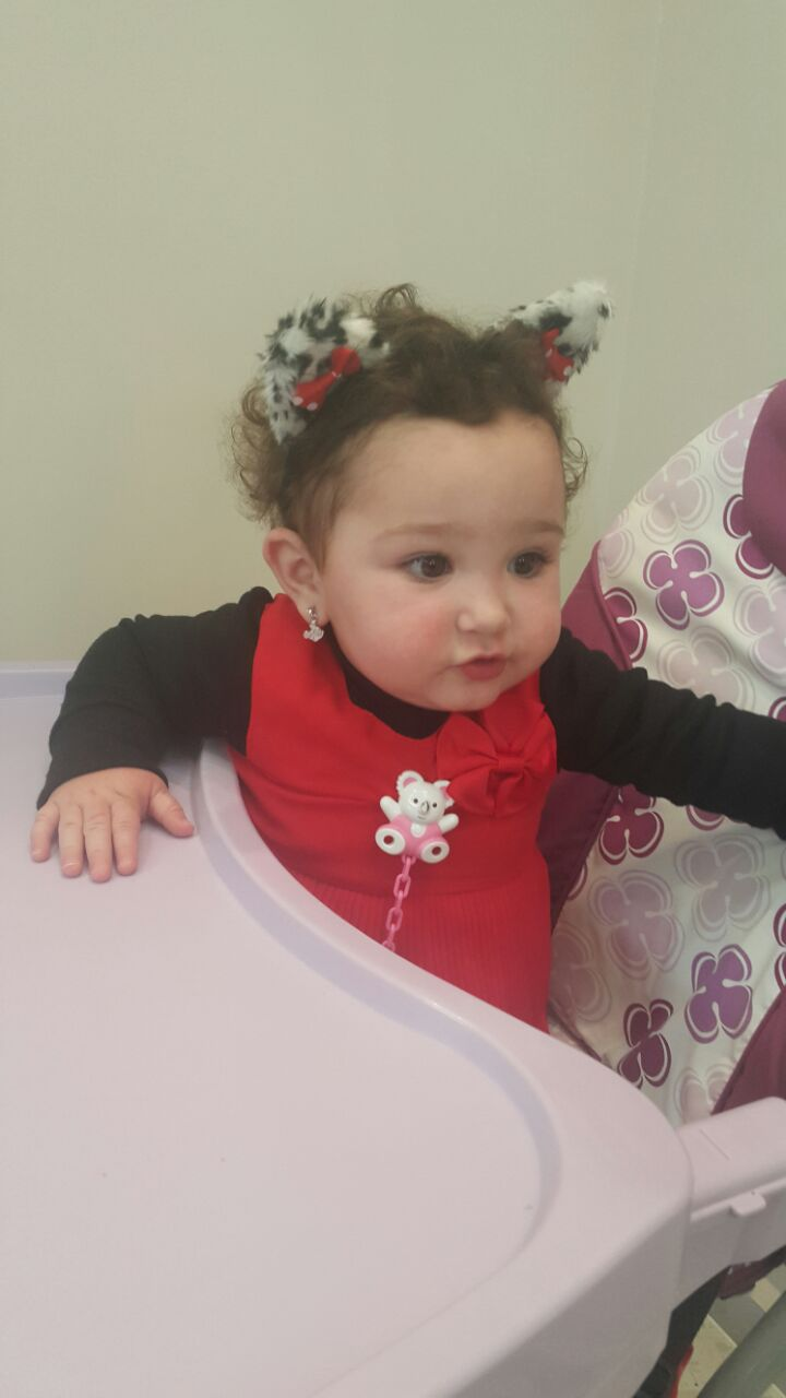 Photo of عيد ميلاد الطفلة سيرين علاء عاصي