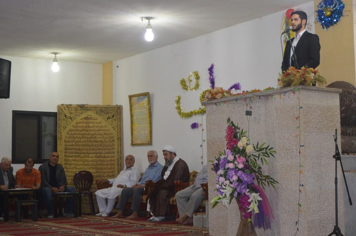 Photo of إحياء ذكرى ولادة الأنوار المحمدية في مسجد الامام علي (ع) _المطل