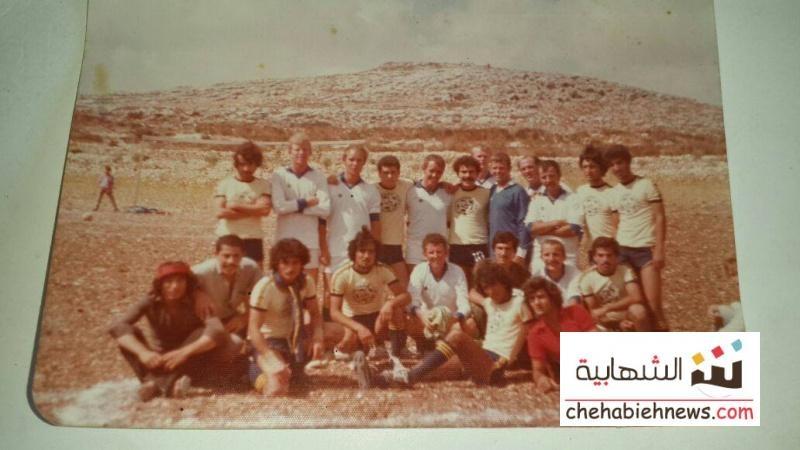 Photo of صورة لفريق الشهابية في كرة القدم مع فريق ايرلندا سنة 1978