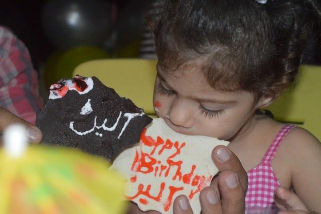 Photo of بالصور : عيد ميلاد الطفلة إلين حسن بركات
