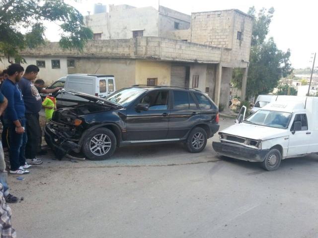 Photo of بالصور : حادث سير عند مفرق الصافح _الشهابيه