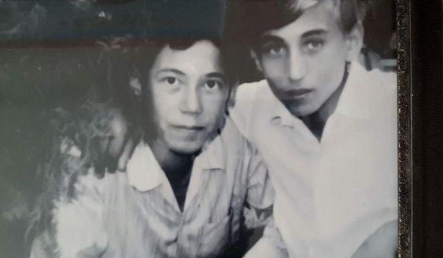 Photo of الحاج خليل بيضون والدكتور أكرم قانصو في صورة من الذاكرة