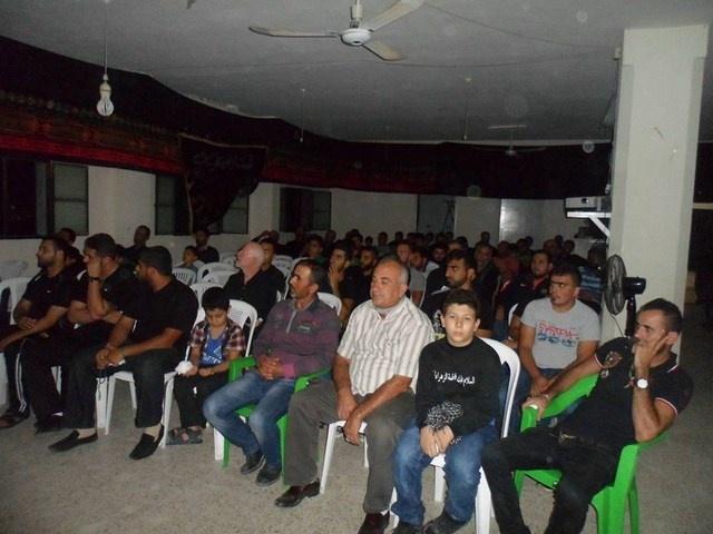 Photo of إحياء الليلة الثامنة من المحرم في مسجد الإمام علي(ع)_المطل