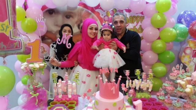 Photo of بالصور : عيد ميلاد الطفلة مايا علي سلمان
