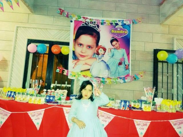 Photo of بالصور   عيد ميلاد الطفلة ساندرا شادي سلمان