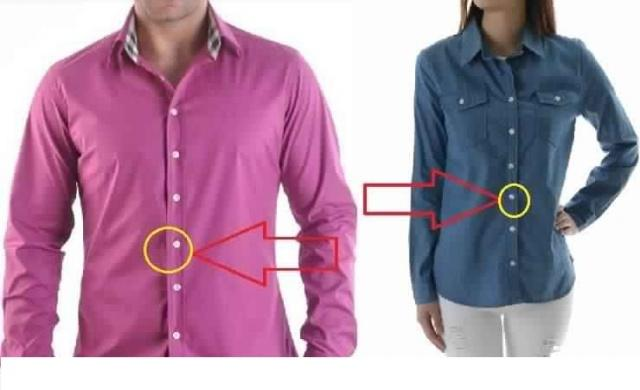 Photo of ما سرّ وجود أزرار قميص الرجال على اليمين .. والنساء على اليسار؟