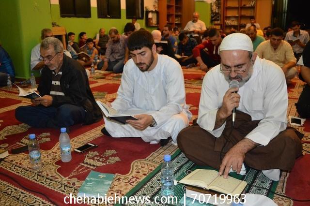 Photo of بالصور   حزب الله أحّيا ليلة القدر الثالثة في مسجد الامام الحسين (ع) _ العين
