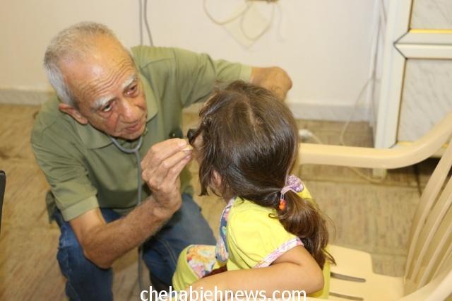 Photo of بالصور | يوم صحي مجاني برعاية مؤسسة عامل في بلدية الشهابية