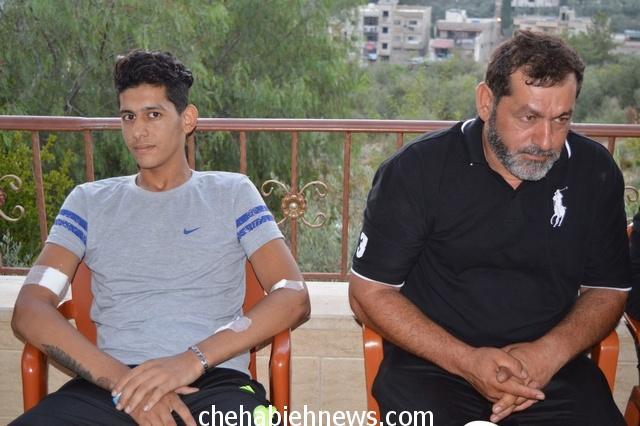 Photo of بالفيديو | اشرف الناس : كلمة الحاج قاسم عواضة والد الجريح المقاوم محمد حسن عواضة