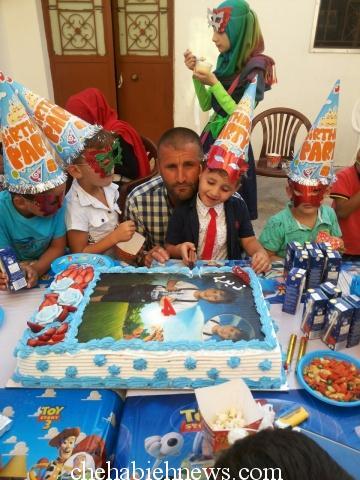 Photo of بالصور   عيد ميلاد الطفل ذيب جهاد ركين