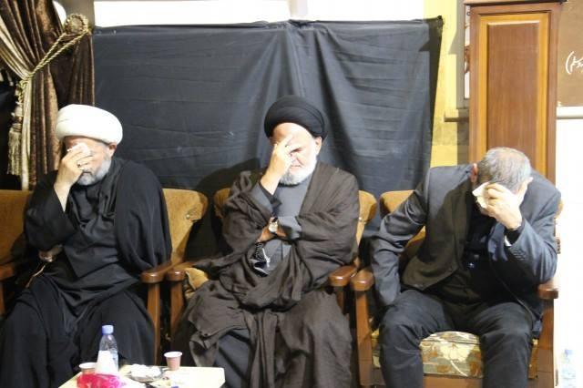 Photo of بالصور   احياء مراسم الليلة التاسعة من المحرم في حسينية الشهابية_المحطة