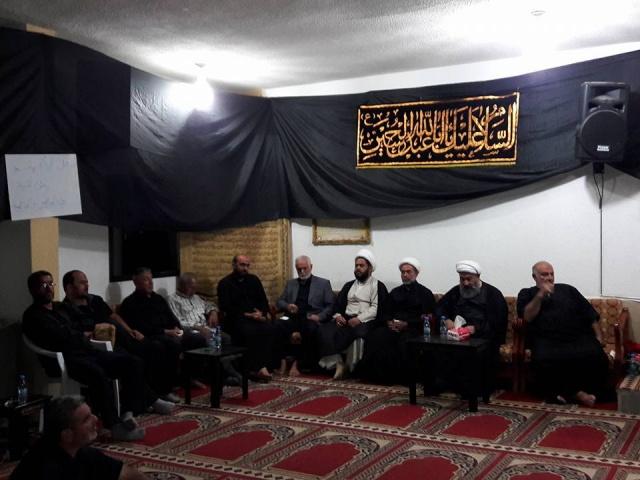 Photo of بالصور | احياء مراسم الليلة الحادية عشر من المحرم في مسجد الامام علي (ع)_المطل