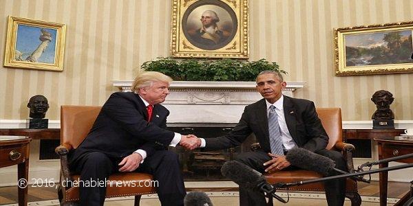 Photo of بالصور   هذا ما كشفته محللة لغة الجسد عن لقاء أوباما وترامب!