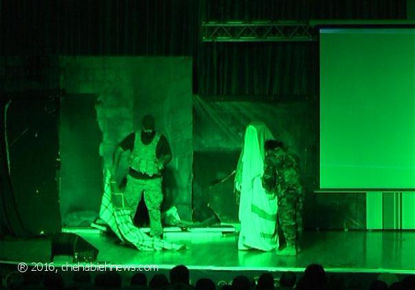 Photo of بالفيديو | مقطع من مسرحية فداك التي عرضت في حسينية الزهراء (ع) _ الشهابية