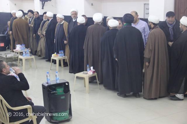 Photo of بالصور | تقبل التعازي بوفاة المرحومة الحاجة خديجة مغنية في حسينية الشهابية _ المحطة