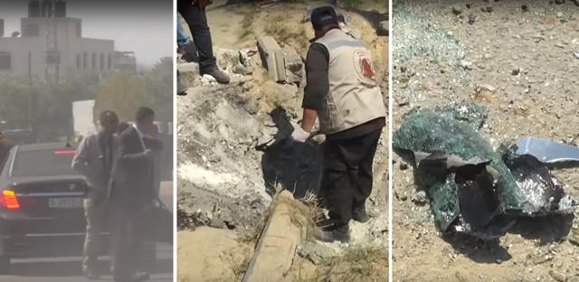 Photo of بالفيديو | لحظة تفجير موكب رئيس الوزراء الفلسطيني في غزة…نجا من محاولة اغتيال