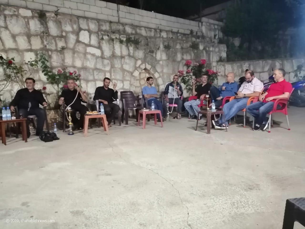 Photo of بالصور | سهرة دينية في منزل الحاج فؤاد حمادي