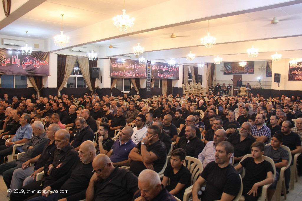 Photo of بالصور | احياء مراسم الليلة السادسة من المحرم في حسينية الشهابية_المحطة