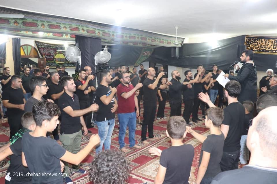 Photo of بالصور | احياء مراسم الليلة الخامسة من المحرم في مسجد الامام علي (ع)_المطل