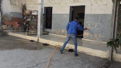 Photo of بالصور   حملة تعقيم الاماكن العامة في بلدة الشهابية