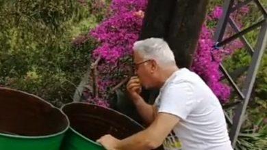 Photo of بالفيديو | الممثل ميشال ابو سليمان يأكل من حاوية النفايات..والسبب!!
