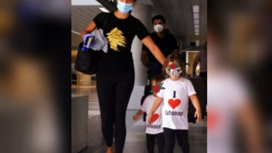 Photo of صورة لأم لبنانية وطفلتيها في مطار بيروت تنتشر وتبعث الأمل