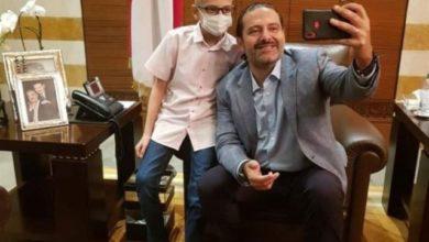 Photo of بالصور | الحريري يستقبل 'الطفل الشجاع'