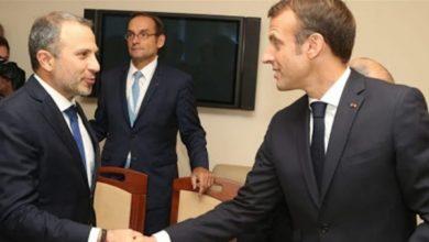 Photo of ما بعد اتصال ماكرون- باسيل.. 'لسنا مهتمين بالمشاركة في اي حكومة يرأسها الحريري'