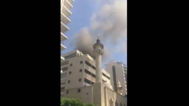 Photo of بالفيديو | حريق في أحد المستودعات في بيروت وفرق الإطفاء تهرع إلى المكان!!